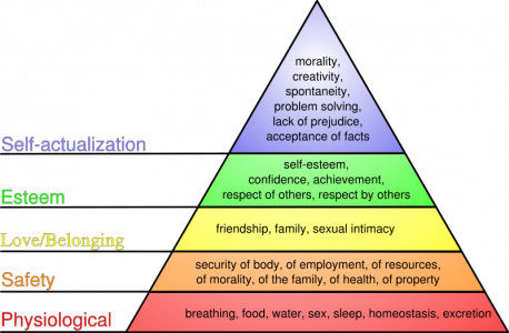 Maslow piramidės versija