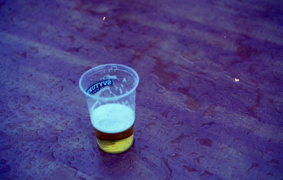 gėrimais pasirupinta