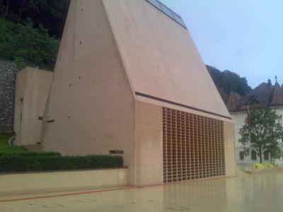Lichtenšteino mokesčių inspekcijos pastatas...